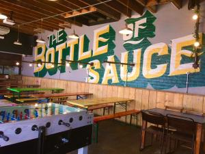 The Bottle of Sauce