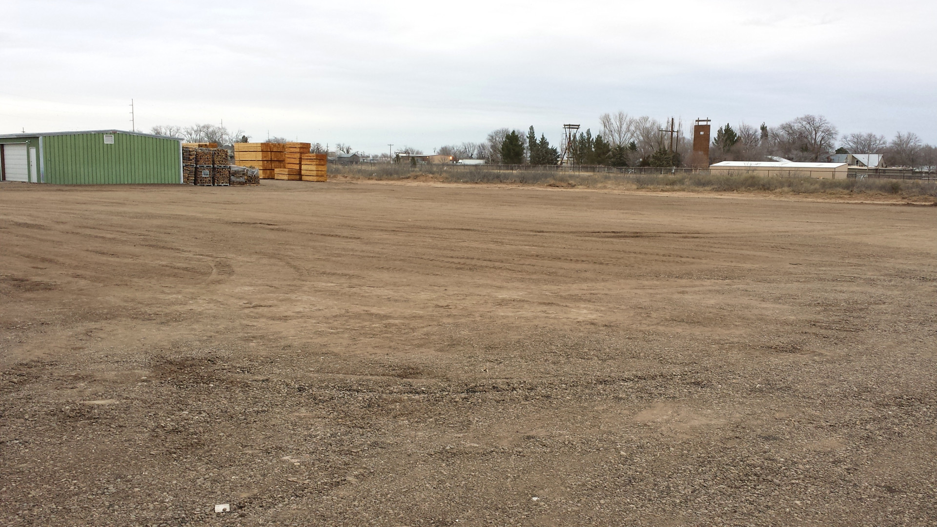 Horse pasture expansion, 1/29/2015