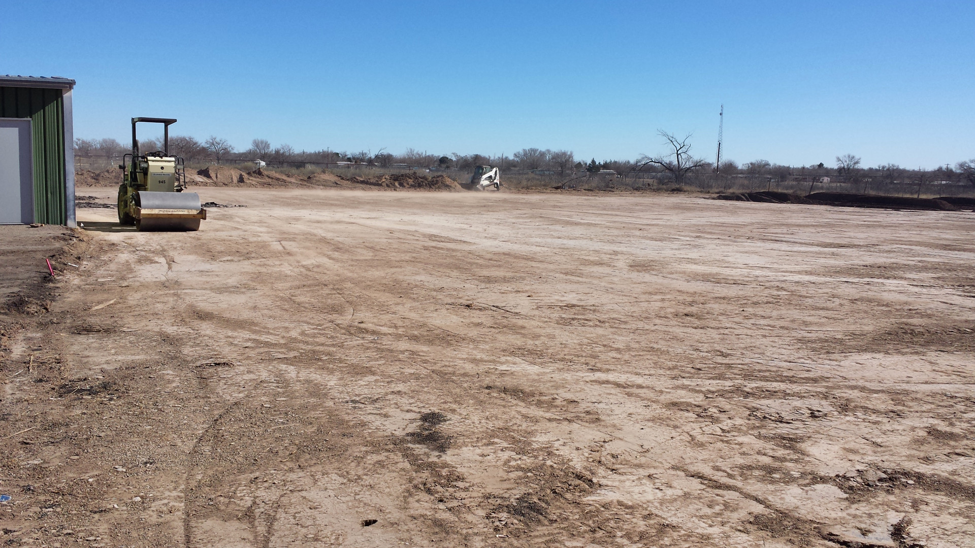 Horse pasture expansion, 1/19/2015