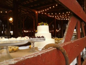 Rustic Chic Barn Wedding Cake and Decor Ideas