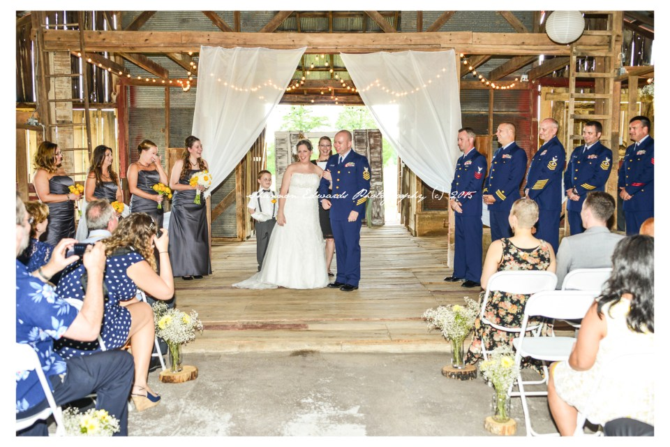 outdoor spring wedding venue