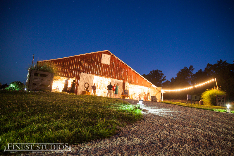 barn wedding country rustic venue reception ceremony Missouri Barn Wedding Venue Historic Farm