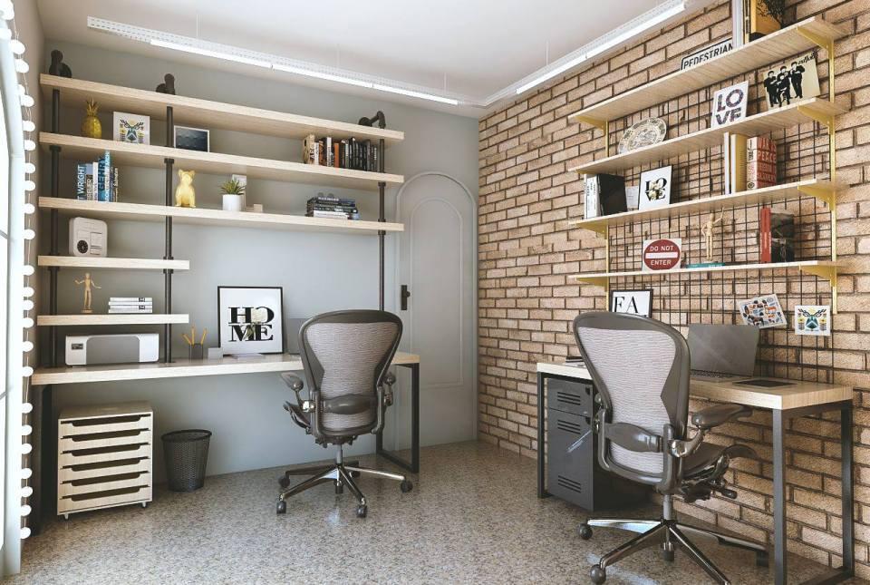 Inspiração – Home office para 2 pessoas