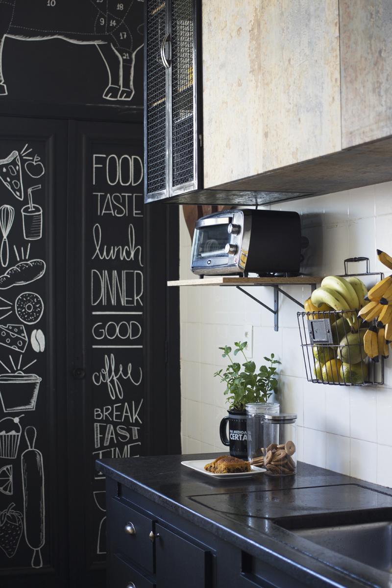 Tour pela minha pequena cozinha