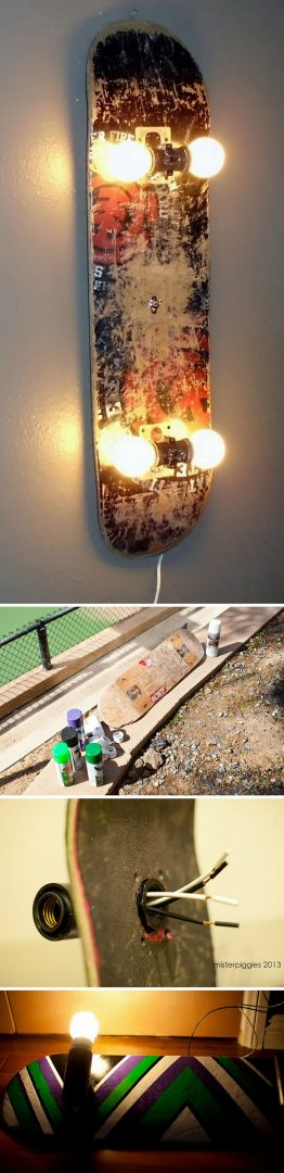 luminaria shape skate