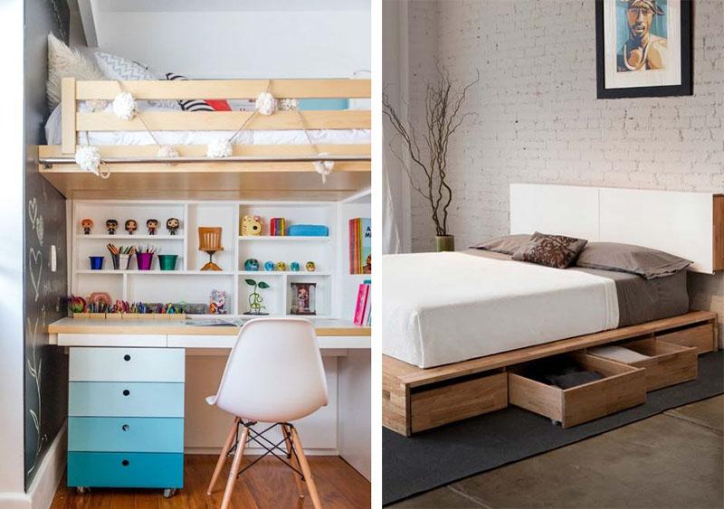 Decoração de quarto pequeno: 5 dicas para ampliar o espaço.