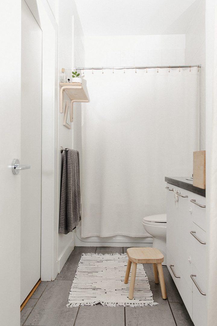 apartamento pequeno decorado banheiro