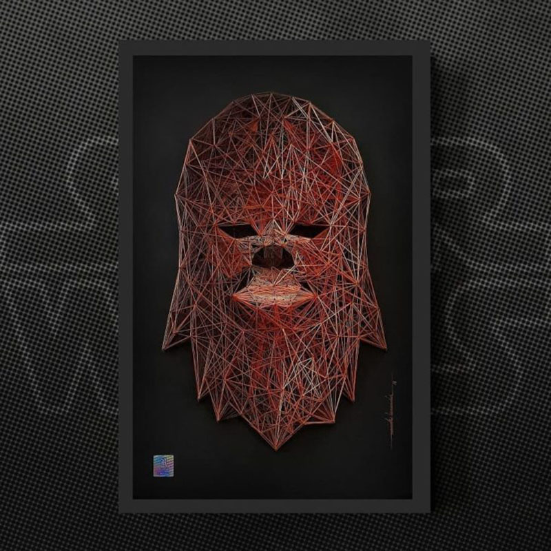 string art star wars