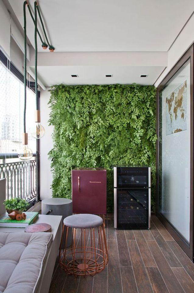 jardim vertical na varanda