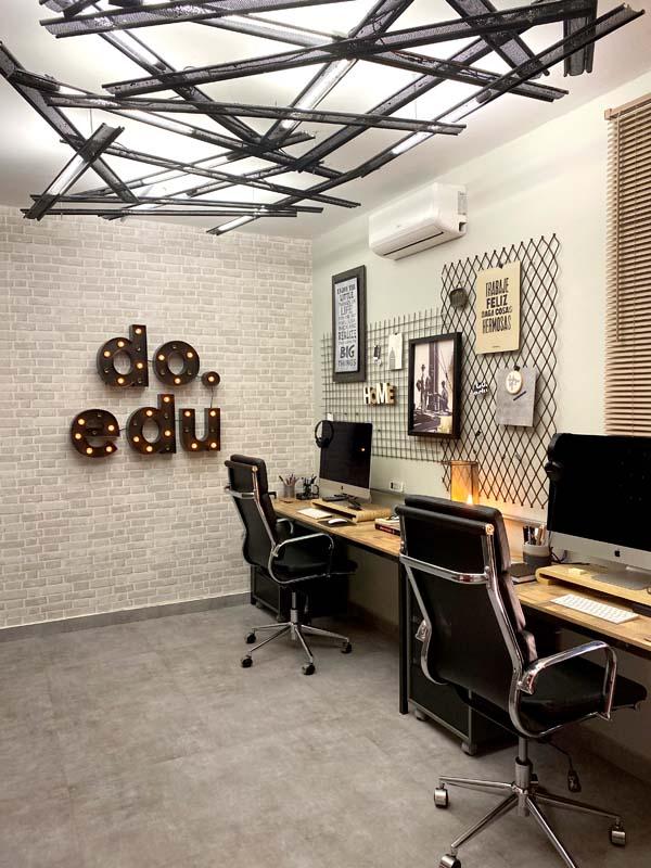 Finalização da reforma no home office
