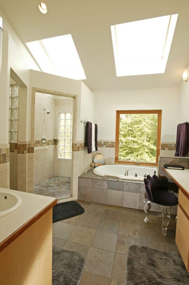 manning modern lake bathroom