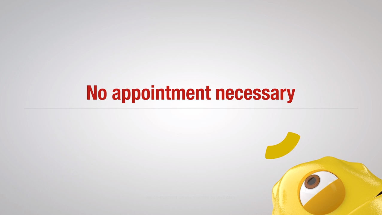no appointment