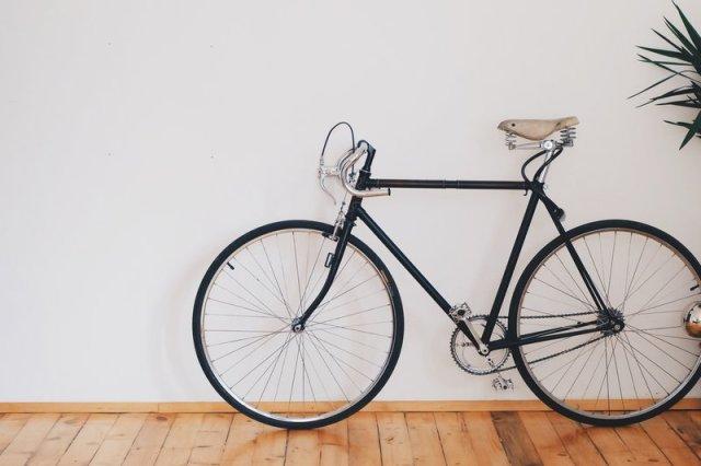 fietsen activiteit thuiswerken