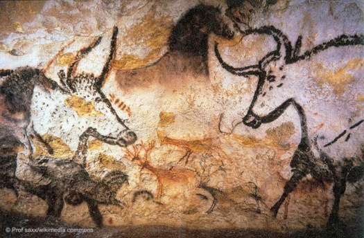 Lascaux Painting of Aurochs