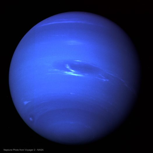 Neptune Photo from Voyager 2 - NASA