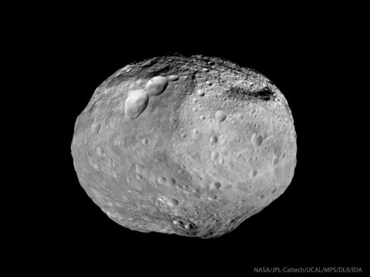 Vesta, Largest of Asteroids