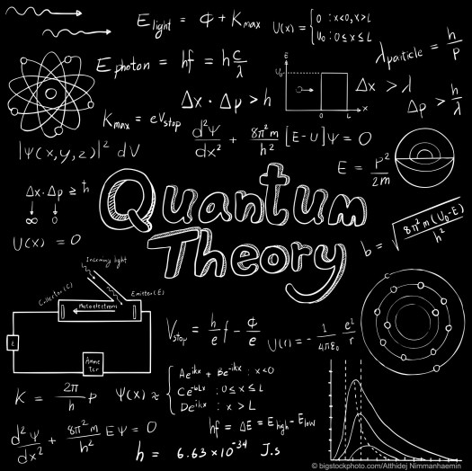 Quantum Mechanics Bumps Into God