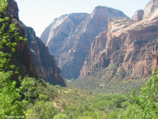 Genesis 1:1 and Zion Canyon