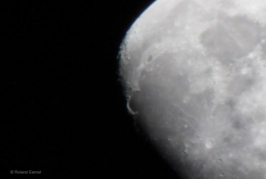 Sinus Iridium on the Moon
