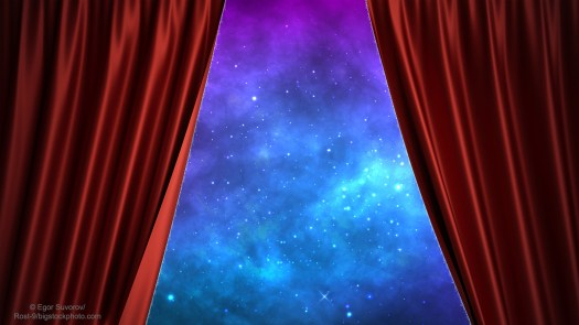 Curtain Opening on the Cosmos