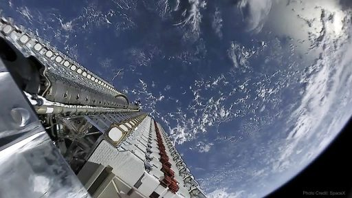 Alien Spacecrafts Coming to America - Starlink Mission