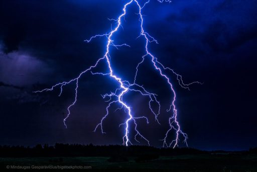 Lightning and Hydroxyl Radicals