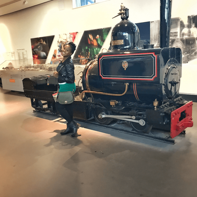 Kemesha at the National Railway Museum in York