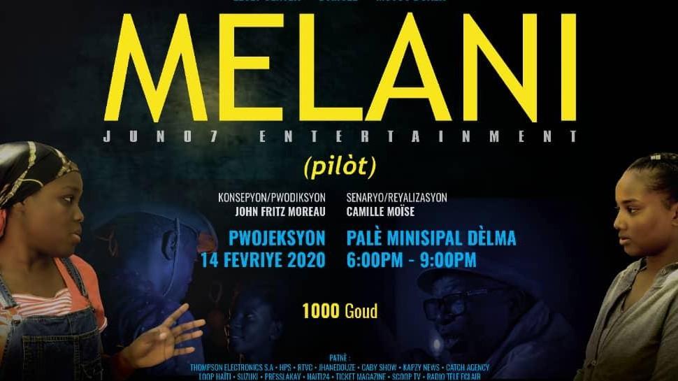 Mélani, une nouvelle série télévisée dans le répertoire cinématographique haitien
