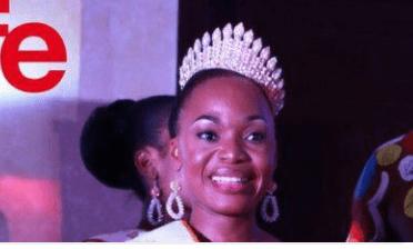 Loukou Getheme couronnée Miss ou l'affirmation d'une femme qui ne veut pas rester en  arrière-plan à la Côte d'Ivoire