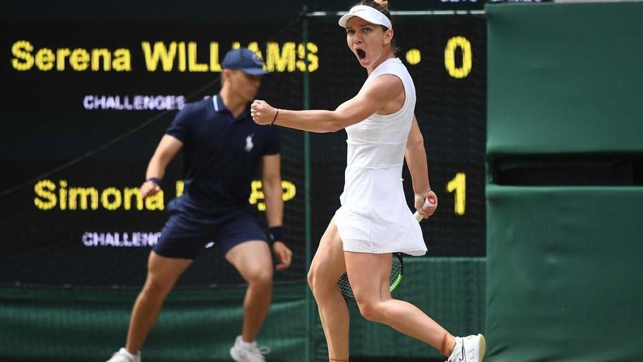 Victoire incroyable de la Roumaine Simona Halep sur la joueuse américaine Serena Williams