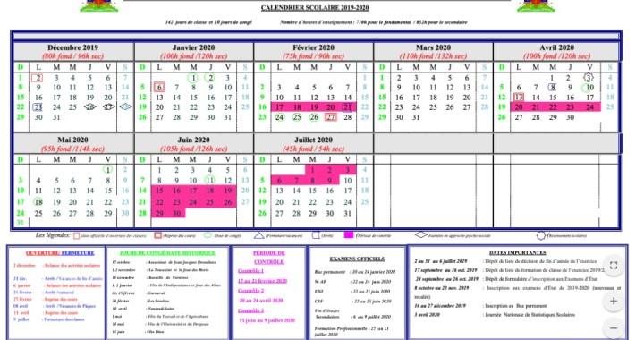 Le ministère de l'éducation nationale et de la formation professionnelle dévoile le calendrier d'inscriptions pour le bac permanent 2020