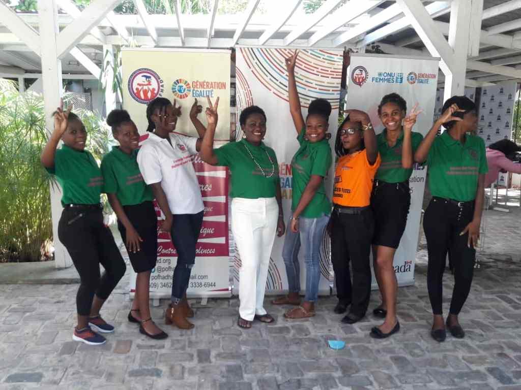 Forum des femmes haitiennes pour la paix: la POFHAD a assuré