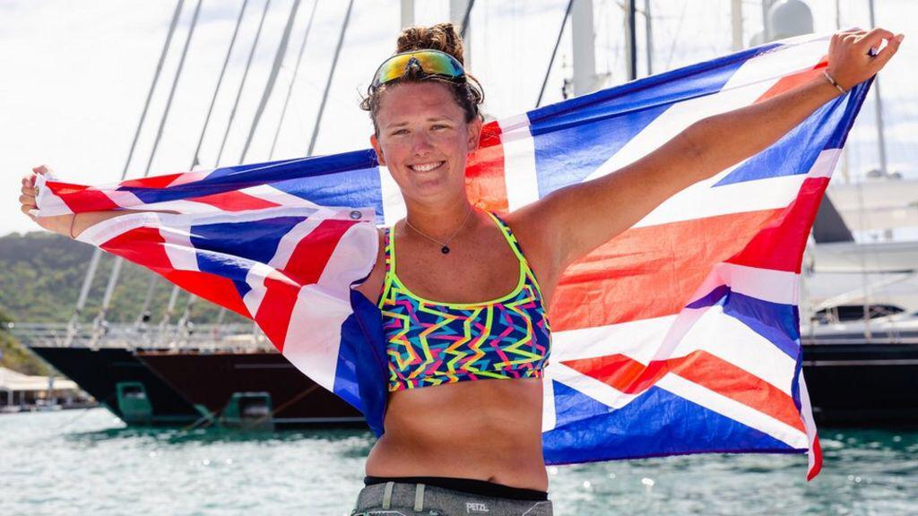Jasmine Harrison, la plus jeune femme à traverser l'Atlantique à la rame.