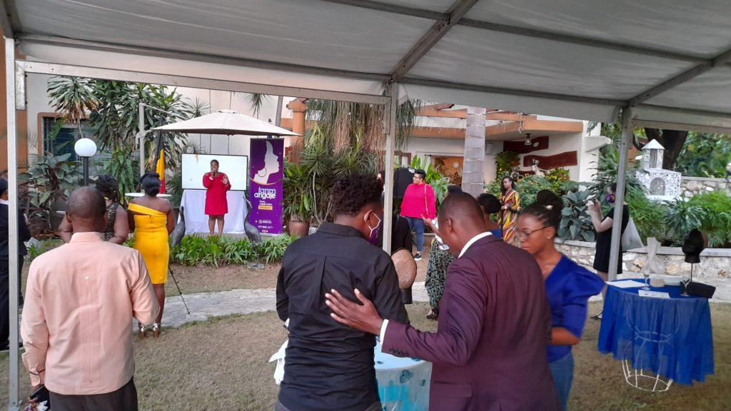 Un cocktail pour lancer officiellement le programme « Fanm Angaje »