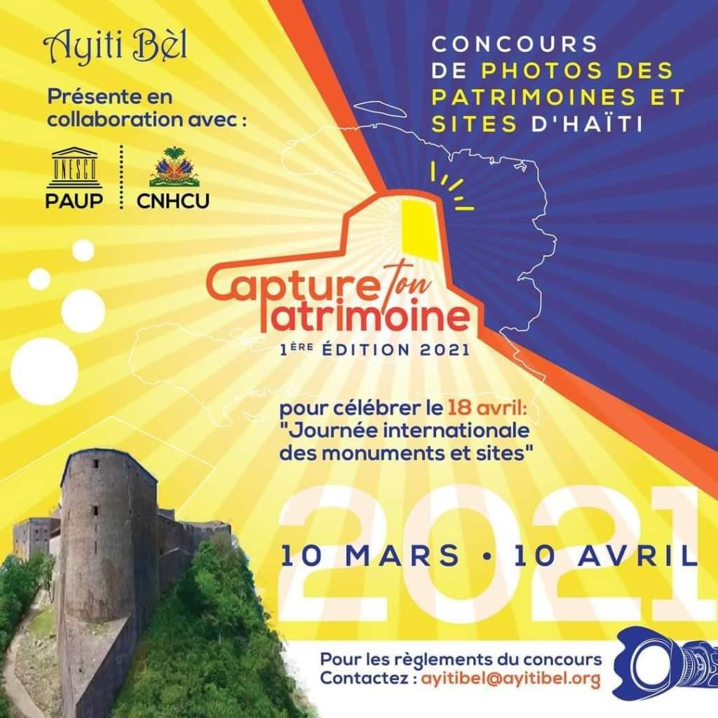 Ayiti Bèl lance un concours de photos pour la valorisation des patrimoines et sites touristiques du pays
