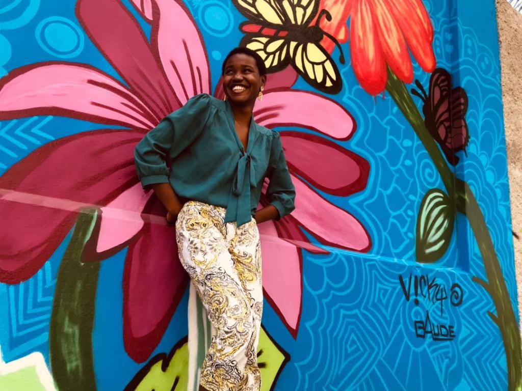 Dashka-Reyna Charlemagne : une jeune graffeuse passionnée