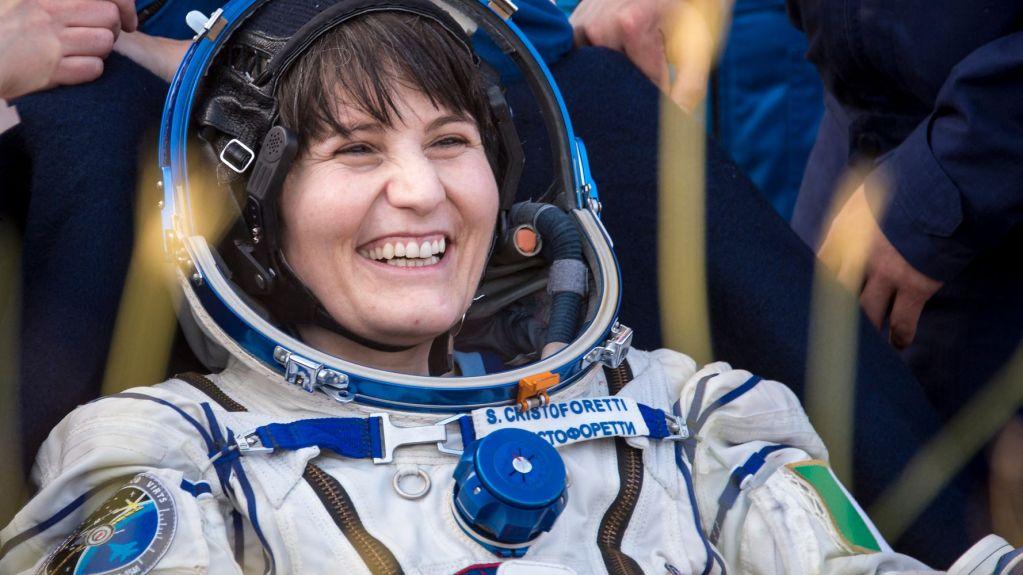 Samantha Cristoforetti, première femme astronaute à la tête de l'ISS
