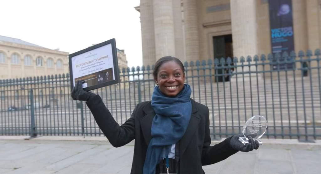 Notre héroïne de l'art oratoire a remporté le prix du public de TV5 monde