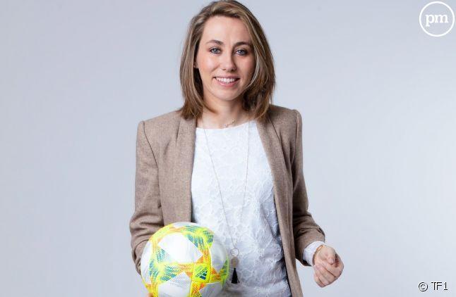 Sabrina Delannoy, première femme à commenter une compétition internationale masculine sur TF1
