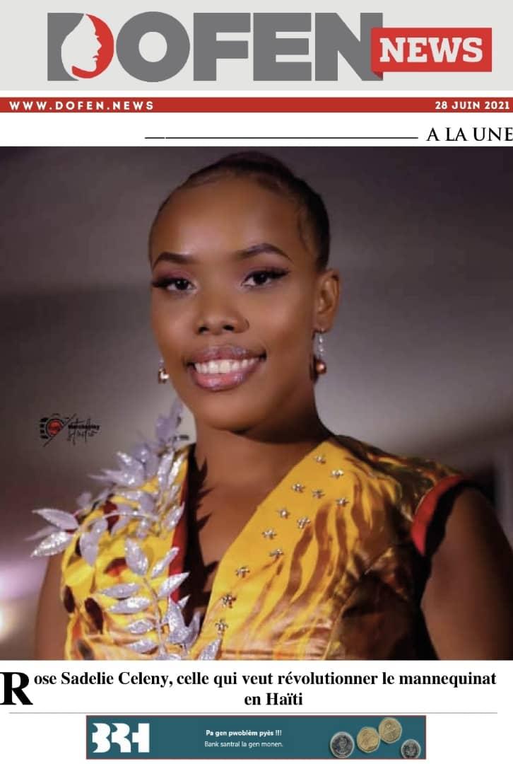Rose Sadelie Celeny, celle qui veut révolutionner le mannequinat en Haïti