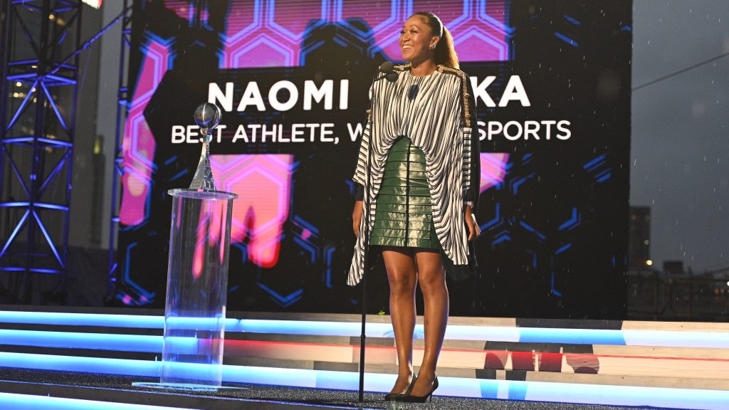 Naomi Osaka nommée meilleure athlète féminin aux ESPY Awards