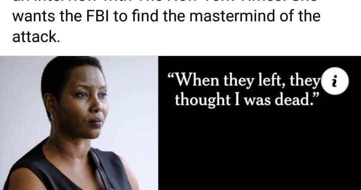 Dans une interview, Martine Moïse raconte les dessous de l'assassinat de son mari au New York Times