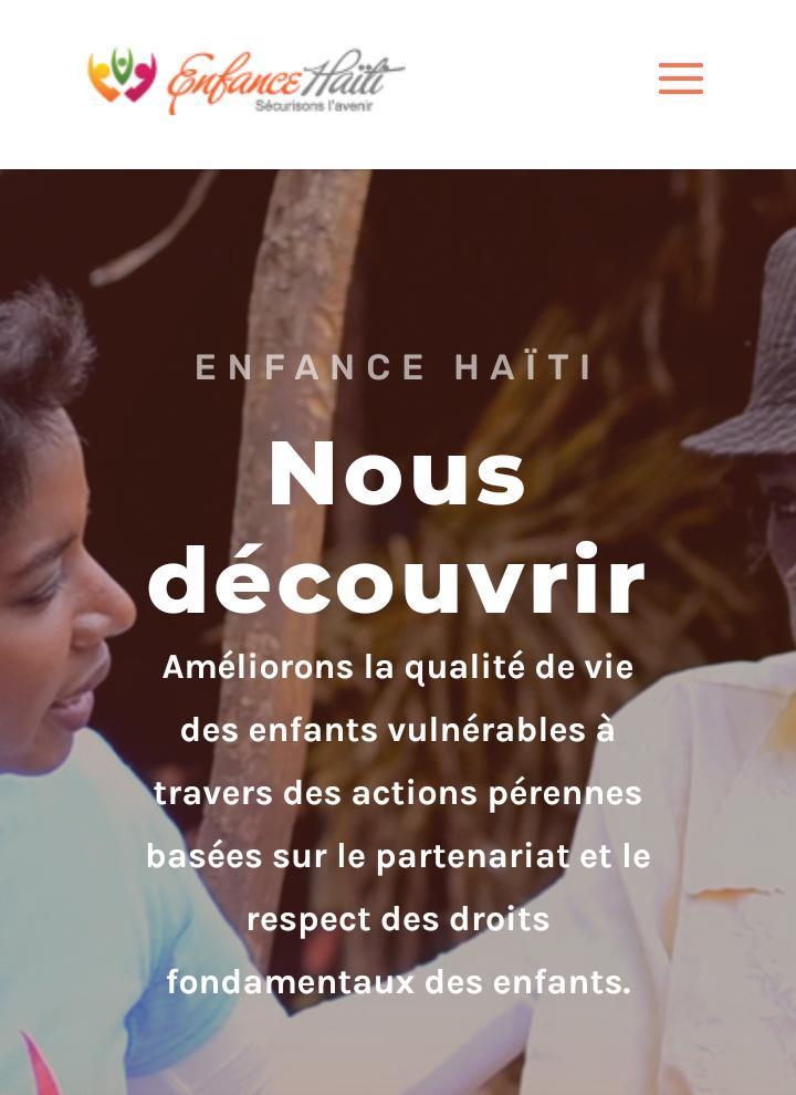 Haïti-Séisme: l'organisation «Enfance Haïti» apportera son aide à la population du Grand Sud