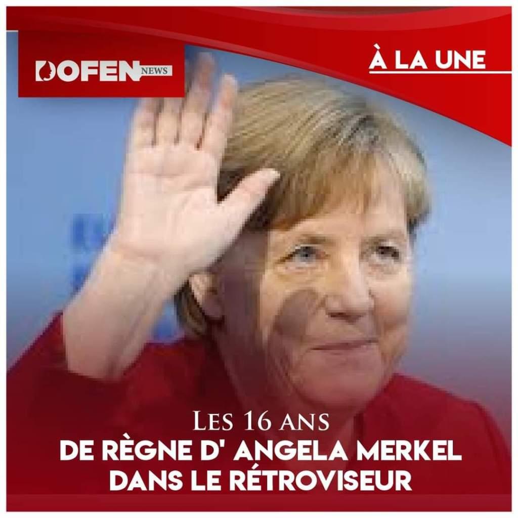 Les 16 ans de règne d'Angela Merkel dans le rétroviseur