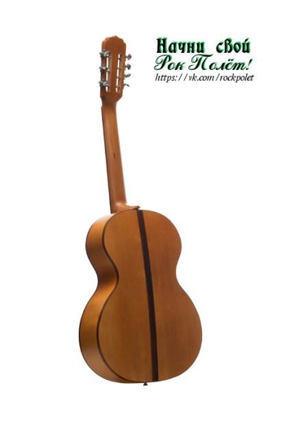 Русская 7-и струнная гитара Doff RG нижняя дека.