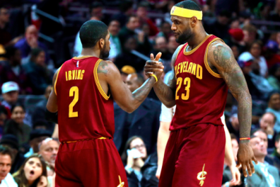Kyrie Irving & LeBron James