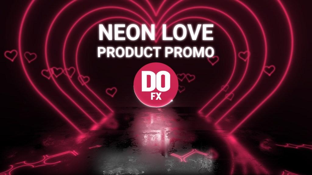 Neon Love Product Promo