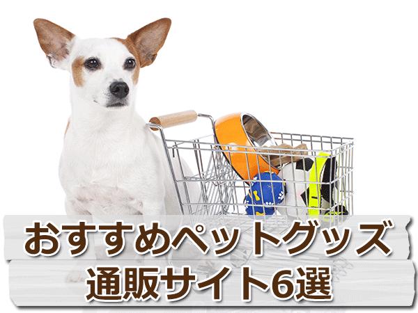犬用品を買う時に!おすすめペットグッズ 通販サイト6選