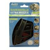 Baskerville 6-1/2-Inch Rubber Ultra Muzzle, Size-3, Black
