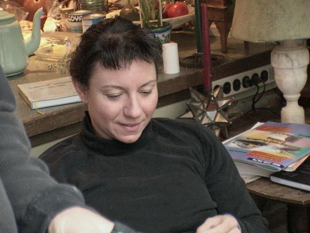 Ann Loeding, Line Producer for Kingston, ON aboard the Alexander Henry